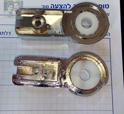 """תמונה של החלפת ציר למקלחון סטנדרטי 6 מ""""מ"""