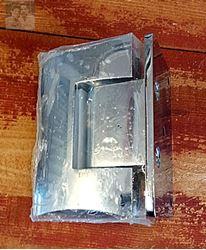 """תמונה של ציר קיר זכוכית  למקלחון 8 מ""""מ"""