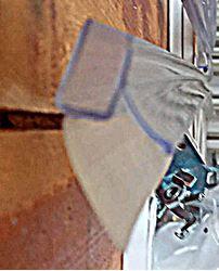 """תמונה של מגב ריצפה סיליקון תחתון למקלחון 6 מ""""מ"""